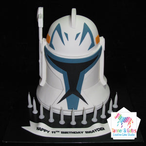 Star Wars - 3D Clone Trooper Cake