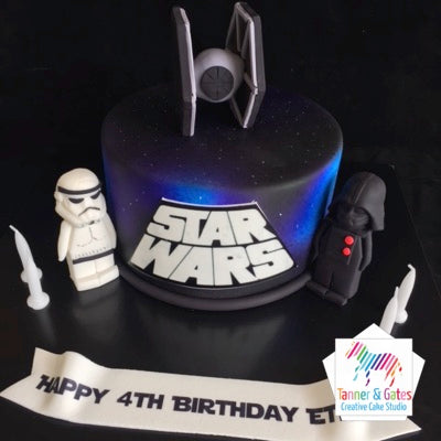Star Wars - Tai Fighter Cake