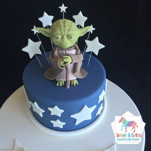 Star Wars - Wise Yoda Cake