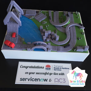 Sydney Cityscape Corporate Cake