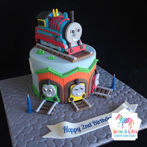 3D Thomas Tank Engine Cake