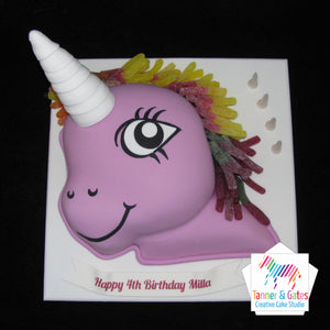 "Unicorn ""My Little Pony"" (Jelly) Birthday Cake"
