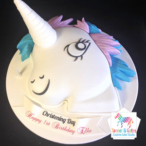 "Unicorn ""My Little Pony"" 2 Birthday Cake"