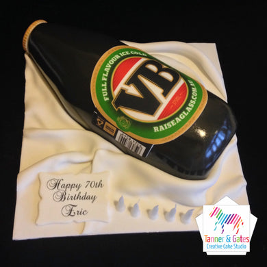 VB Bottle Birthday Cake