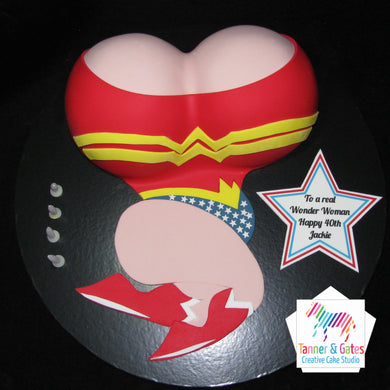 Wonder Woman Cake - Large
