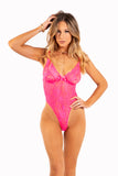 FLURO PINK ONE PIECE