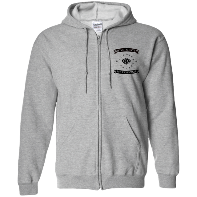 OFiveTwenty1 Zip Up Hooded Sweatshirt