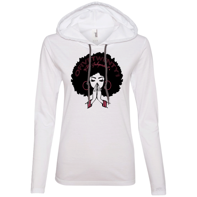 Ms. Independent Ladies' LS T-Shirt Hoodie
