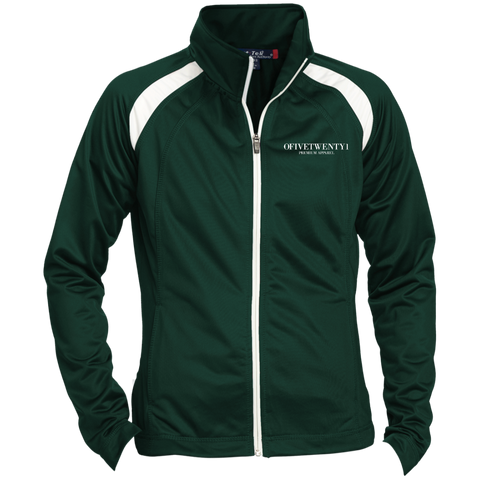 OFiveTwenty1 Ladies' Raglan Sleeve Warmup Jacket