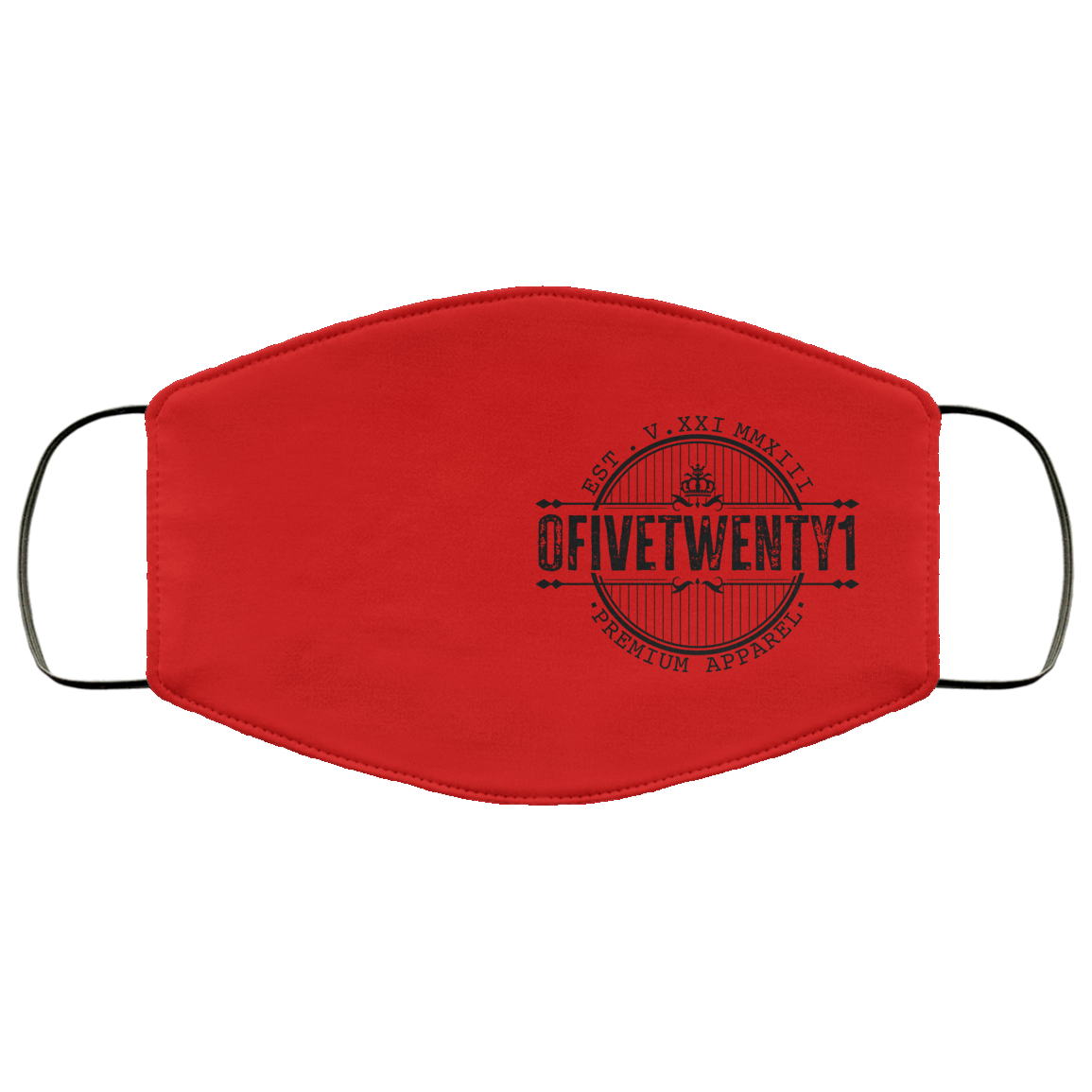 OFiveTwenty1 Custom Logo 1 Face Mask