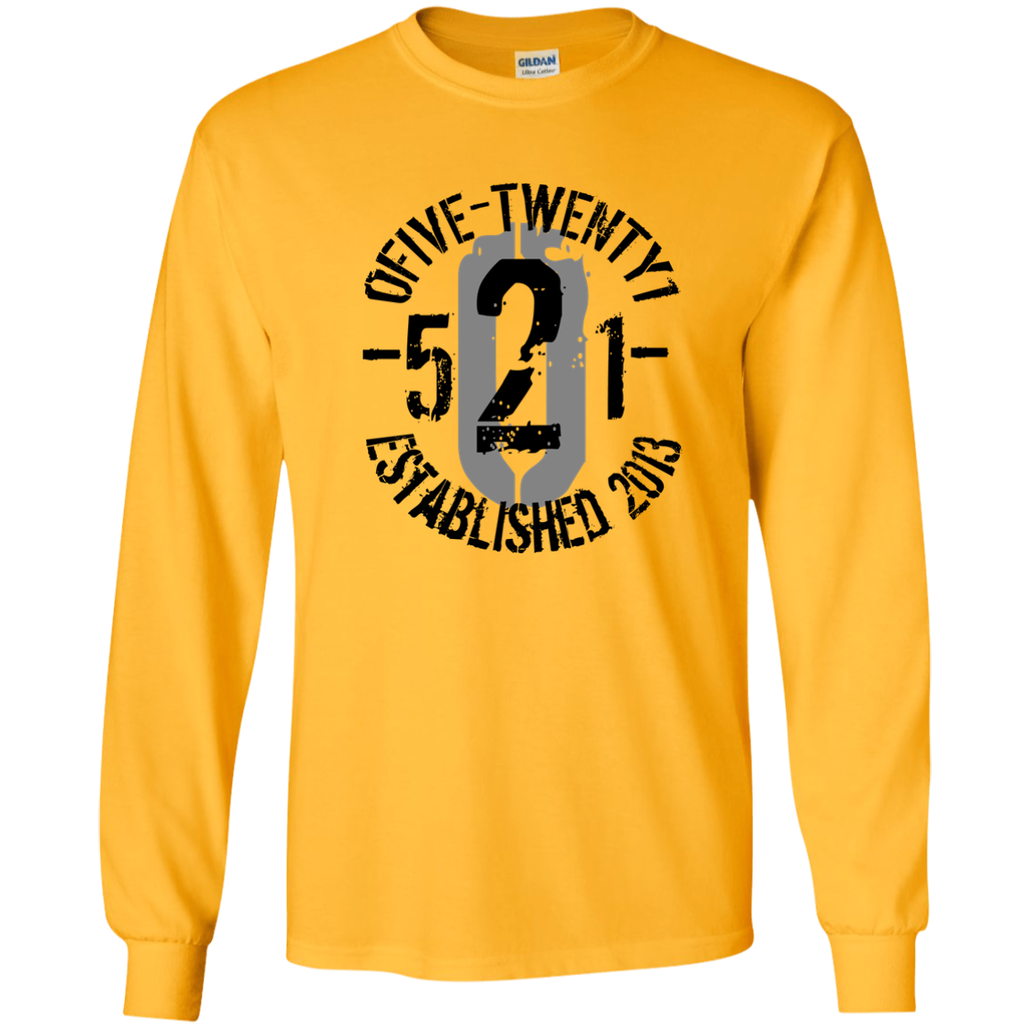 OFiveTwenty1 Long Sleeve Ultra Cotton T-Shirt