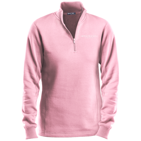OFiveTwenty1 Sport-Tek Ladies' 1/4 Zip Sweatshirt