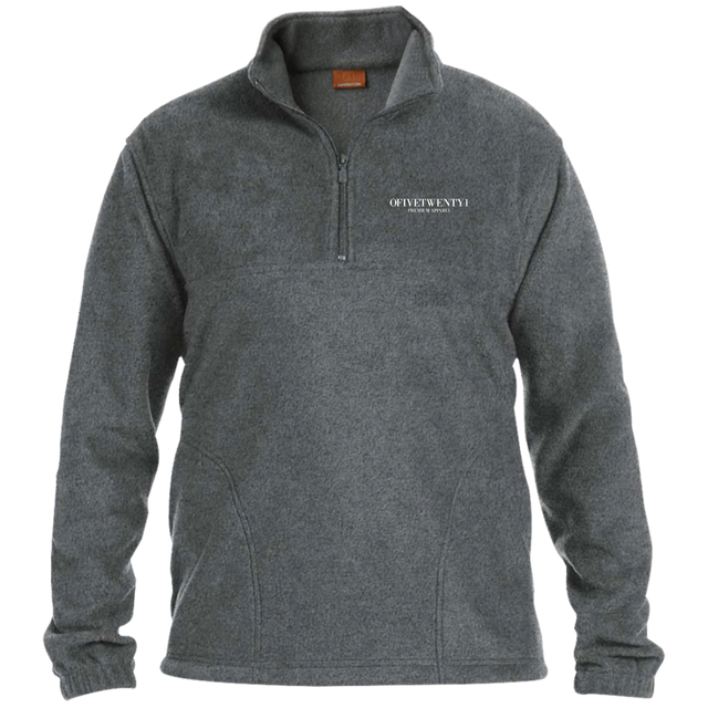 OFiveTwenty1 - 1/4 Zip Fleece Pullover
