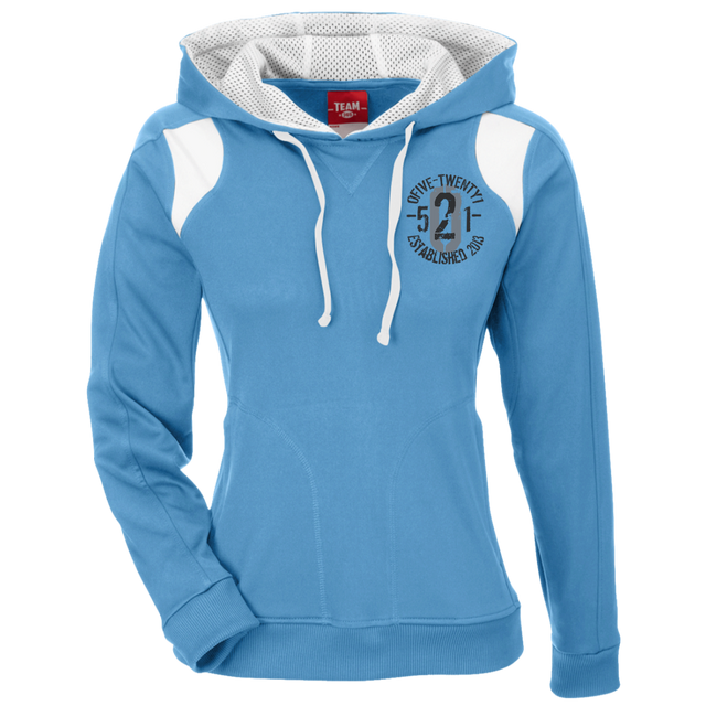 OFiveTwenty1 Team 365 Ladies' Colorblock Poly Hoodie