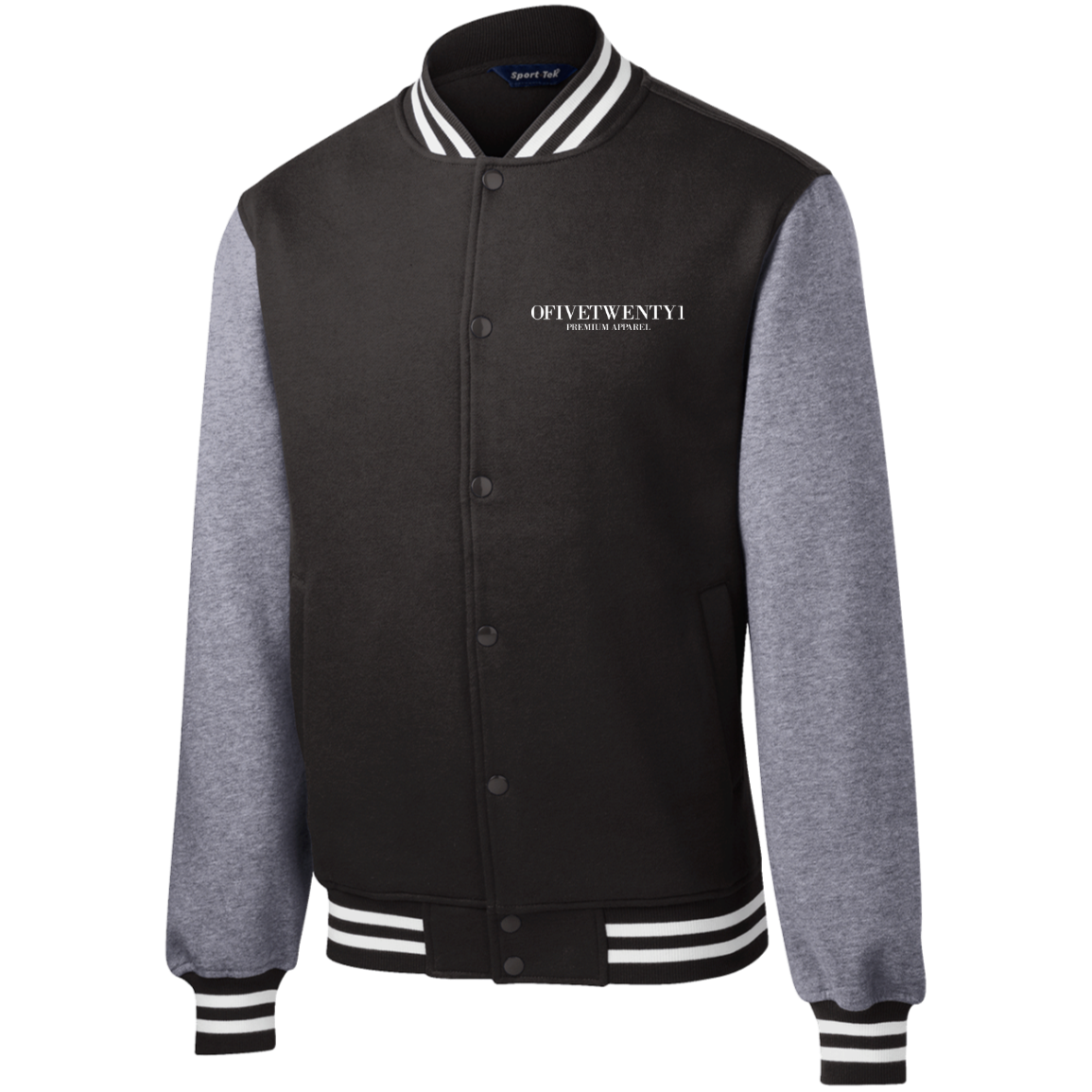 OFiveTwenty1 Sport-Tek Fleece Letterman Jacket