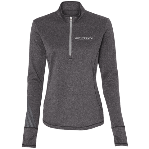 OFiveTwenty1 Adidas Ladies' Terry Heather 1/4 Zip