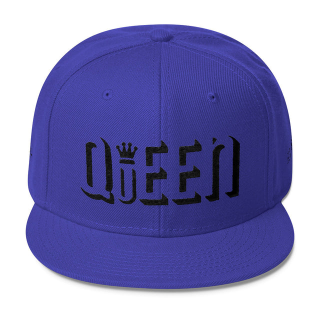 "OFiveTwenty1 ""Queen"" Wool Blend Snapback w/Black Embroidery"
