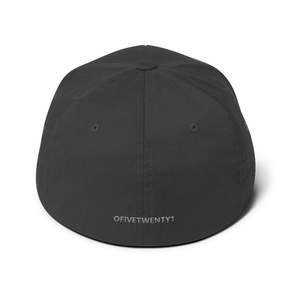 V.XXI Puff Embroidery Fitted Cap
