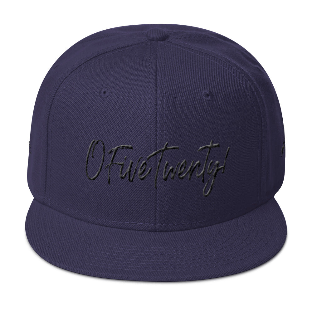 OFiveTwenty1 Puff Embroidered Snapback Hat