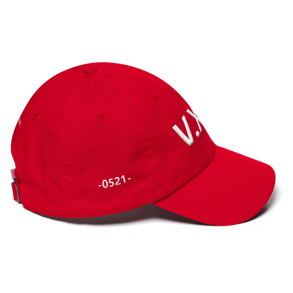 V.XXI Puff Embroidered Dad Hat