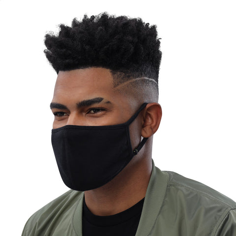 OFiveTwenty1 Solid Black Face Mask (3-Pack)