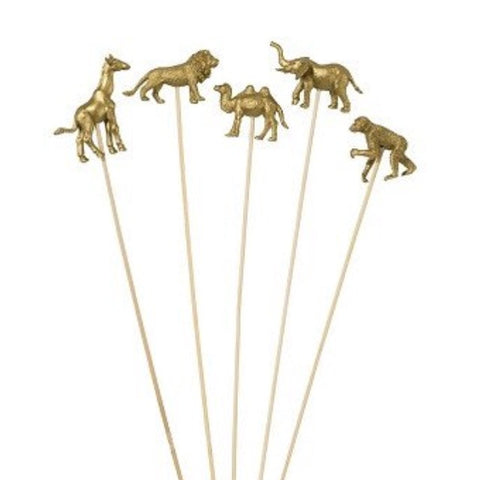 Gold Animal Sticks