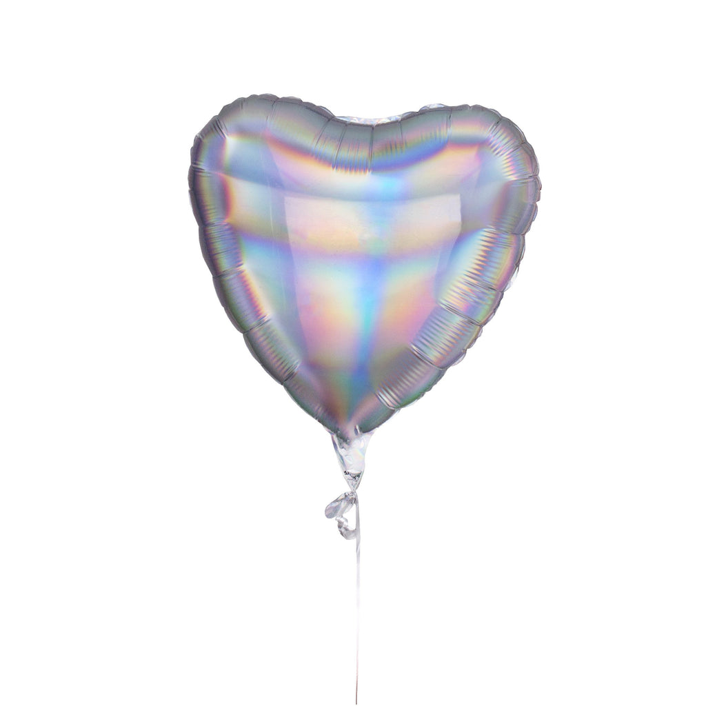 Holographic Heart Balloon