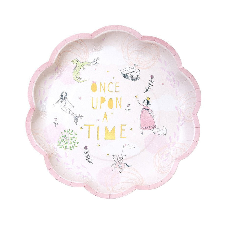 We Heart Fairytale Paper Plates