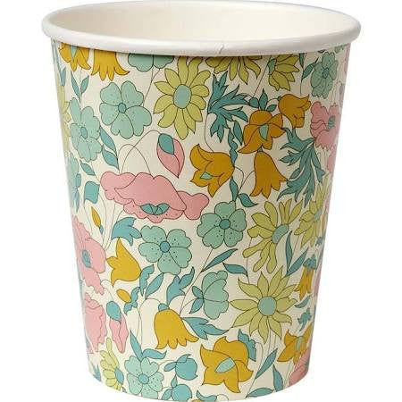Liberty Poppy & Daisy Party Cup