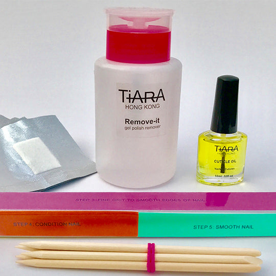TIARA REMOVE - IT PACK (ACETONE)