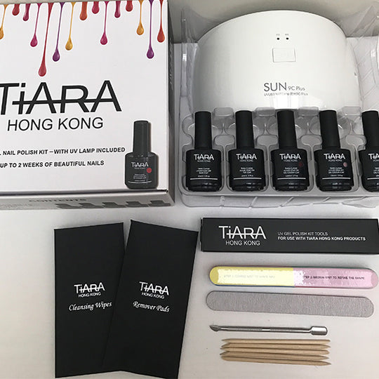 TiARA  DIY GEL POLISH KITS