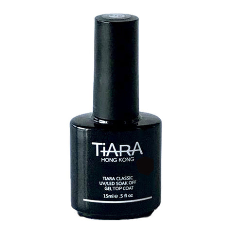 A single thin layer of Tiara Classic Top Coat provides the durable final coat and seals with a mirror like finish. Available in 15ml.