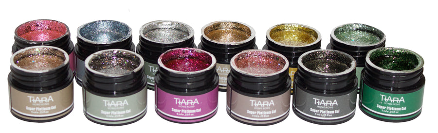 TiARA Super Platinum Gel Polish 01