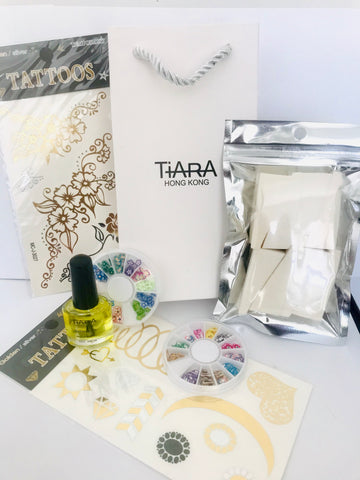 TIARA PARTY GOODIE BAG - TiARA Temp Tattoos