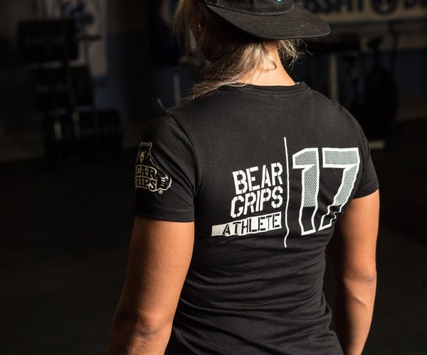 Bear Grips Athlete Shirts-Soft, Contouring Cotton, Perfect for Gym & Workouts for Woman-Athlete Shirts-BearGrips