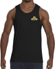 Bear Grips Tank Top - White w/Small Black Logo-Men's Apparel-BearGrips