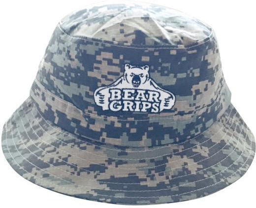 Camo Bucket Hat-Hat-BearGrips
