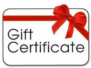 Gift Certificate-BearGrips