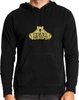 Men's Hooded Sweatshirt - Large Gold Logo-Men's Apparel-BearGrips