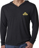 Men's Hoodie - Small Gold Logo-Men's Apparel-BearGrips
