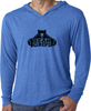 Men's Long-Sleeve Hoodie - Large Black Logo-Men's Apparel-BearGrips