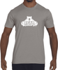 Men's T-Shirt - Large White Logo-Men's Apparel-BearGrips