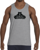 Men's Tank Top - Large Black Logo-Men's Apparel-BearGrips