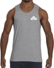 Men's Tank Top - Small White Logo-Men's Apparel-BearGrips