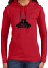Women's Long-Sleeve Hoodie - Large Black Logo-Women's Apparel-BearGrips