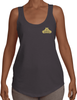 Women's Terry Racerback - Small Gold Logo-Women's Apparel-BearGrips