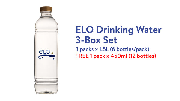 ELO Drinking Water 3-Box Set (1.5L) (10%)