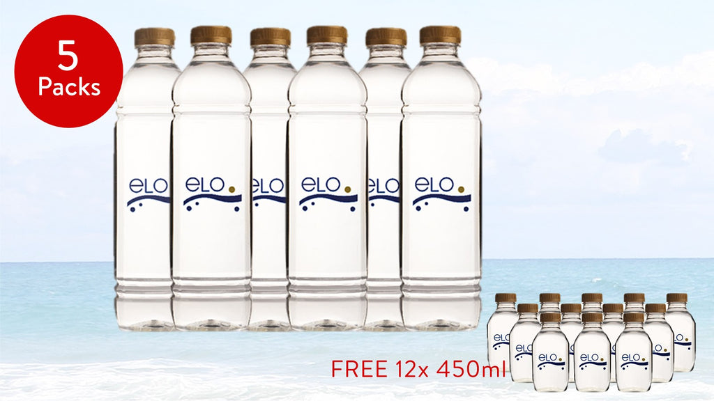 PROMO: ELO Drinking Water 1.5 L (5 Packs)