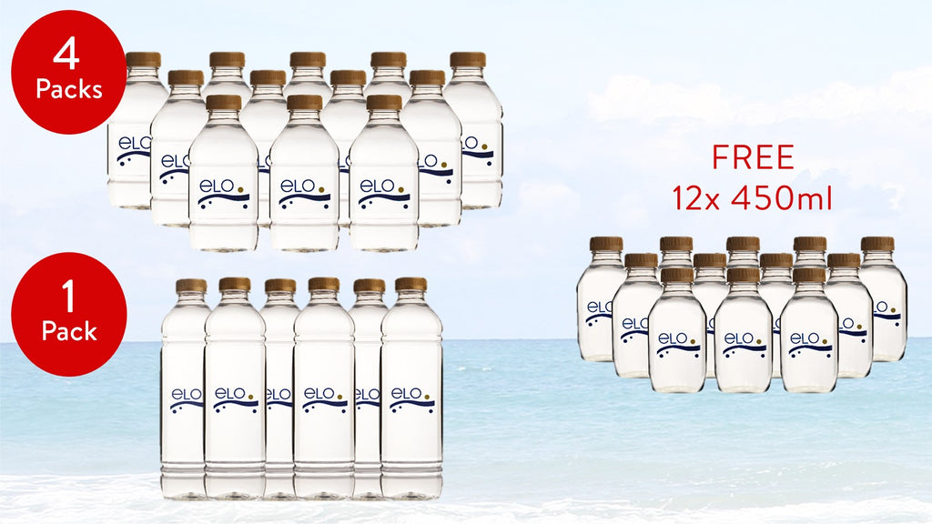 PROMO: ELO Drinking Water 1.5 L (1 Pack) & 750 ml (4 Packs)