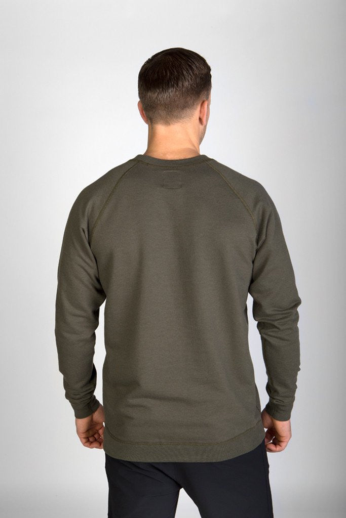CLASSIC CREW - CLEAN BURNT OLIVE
